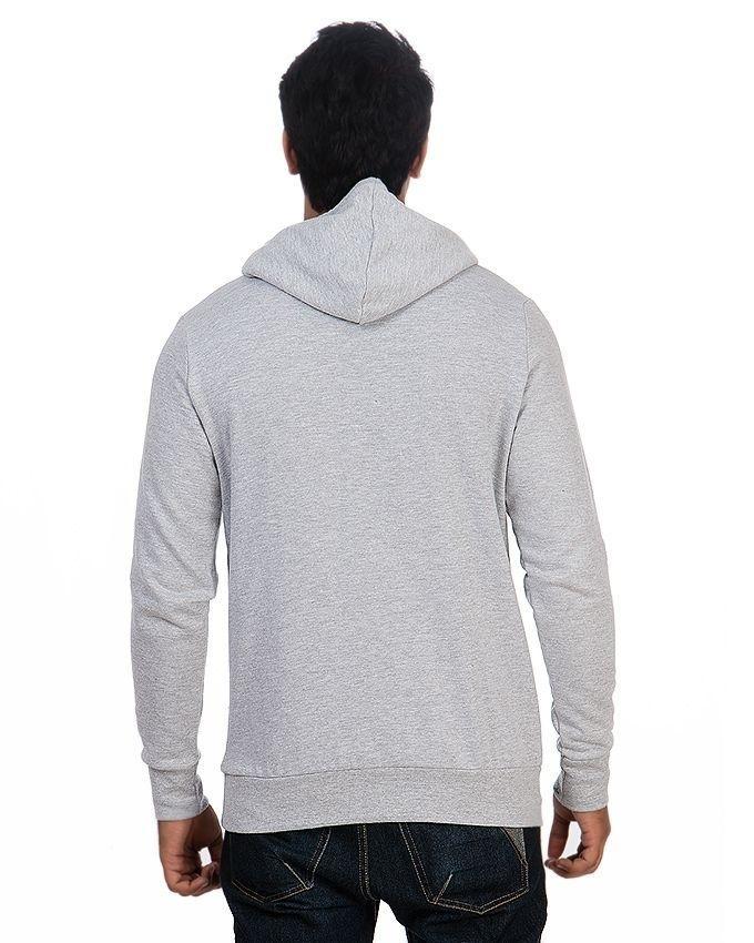 Pack of 2 - Black & Grey Fleece Hoodie for Men