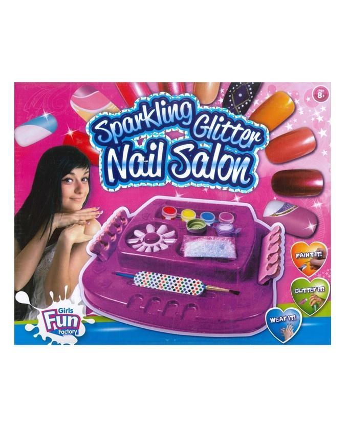Nail Salon Art Kit - Multicolour