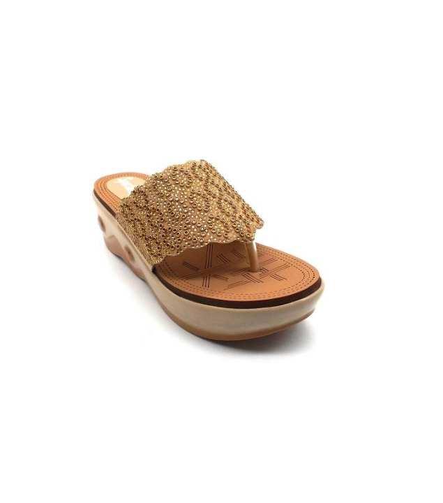 Fawn Pin Work Slipper For Women 2621/006