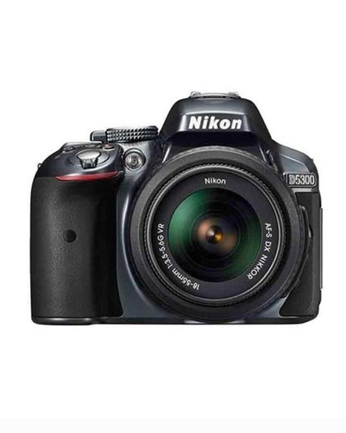 D5300 - DSLR Camera - 24 2MP - 18-55VR - Black