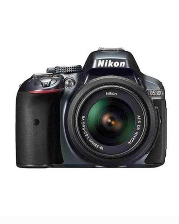 D5300 - DSLR Camera - 24.2MP - 18-55VR - Black