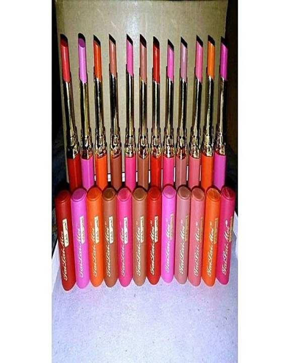 Pack Of 12 - Lipsticks - Multicolor-