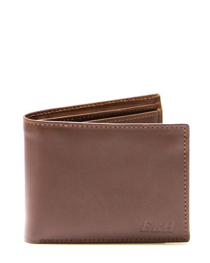 Brown Leather Wallet For Men - 0532-4HAMIZ002