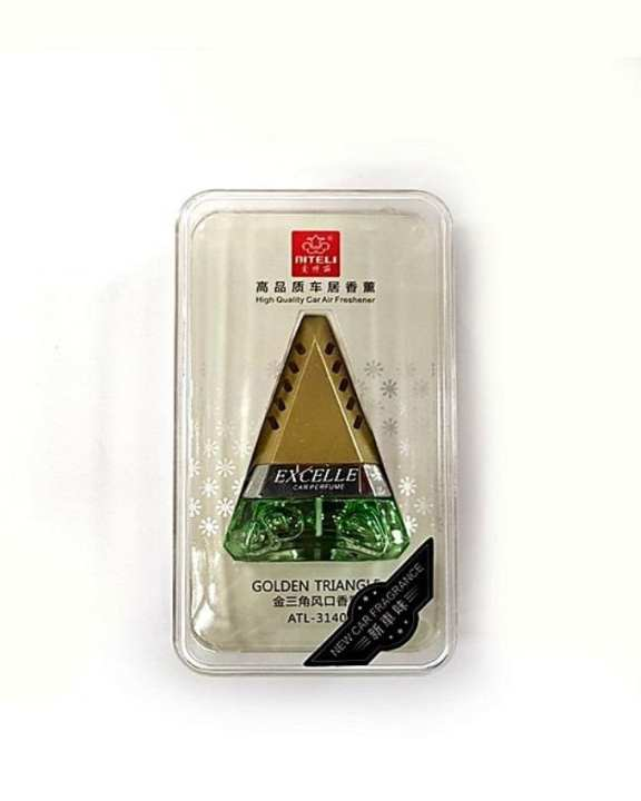 Golden Triangle A/C Grill Perfume – 6.5 ml - New Car