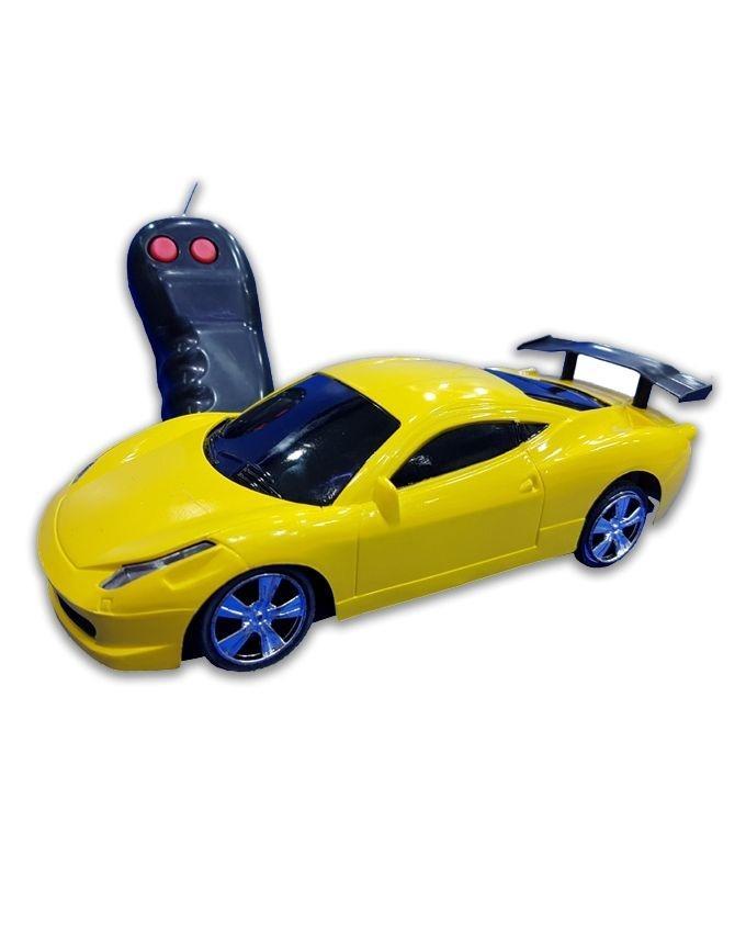 Radio Control Racing Car - Yellow