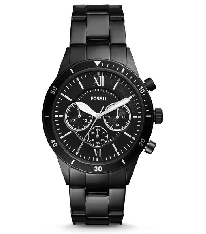 Flynn Sport Black Chronograph Men's Watch BQ-2227