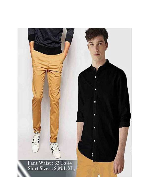 Pack of 2 Shirt + Jeans For Mens