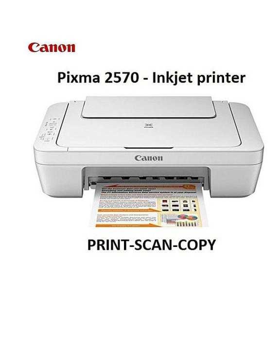 Cannon Pixma Mg2570S Color Inkjet Printer-Copier-Scan