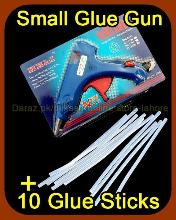 20W Brand New Hot Glue Gun Small + 10 Glue Sticks
