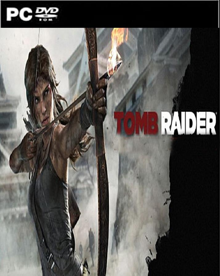 Tomb Raider Game For Pc - Dvd