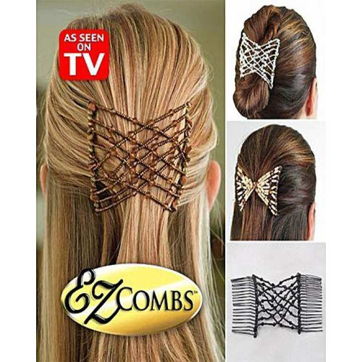 Ez Combs Stretchable Double Combs