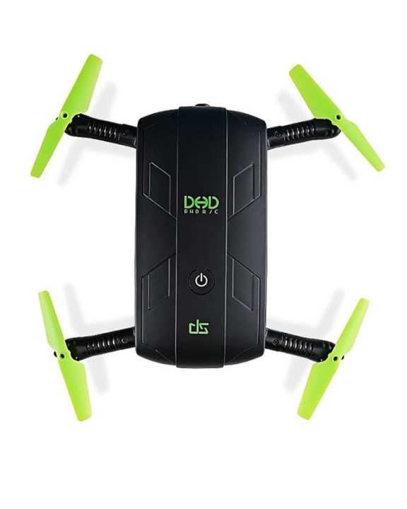 Wifi Camera Foldable Drone Remote Control Quad Copter - Black