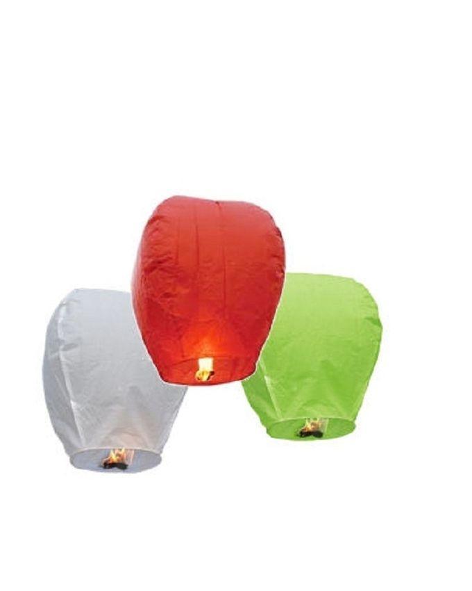 Pack of 3 - Sky Lantern - Multicolor
