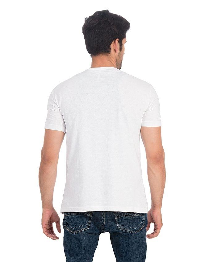 I Hate Morning Printed White Cotton T-Shirt - POS-109