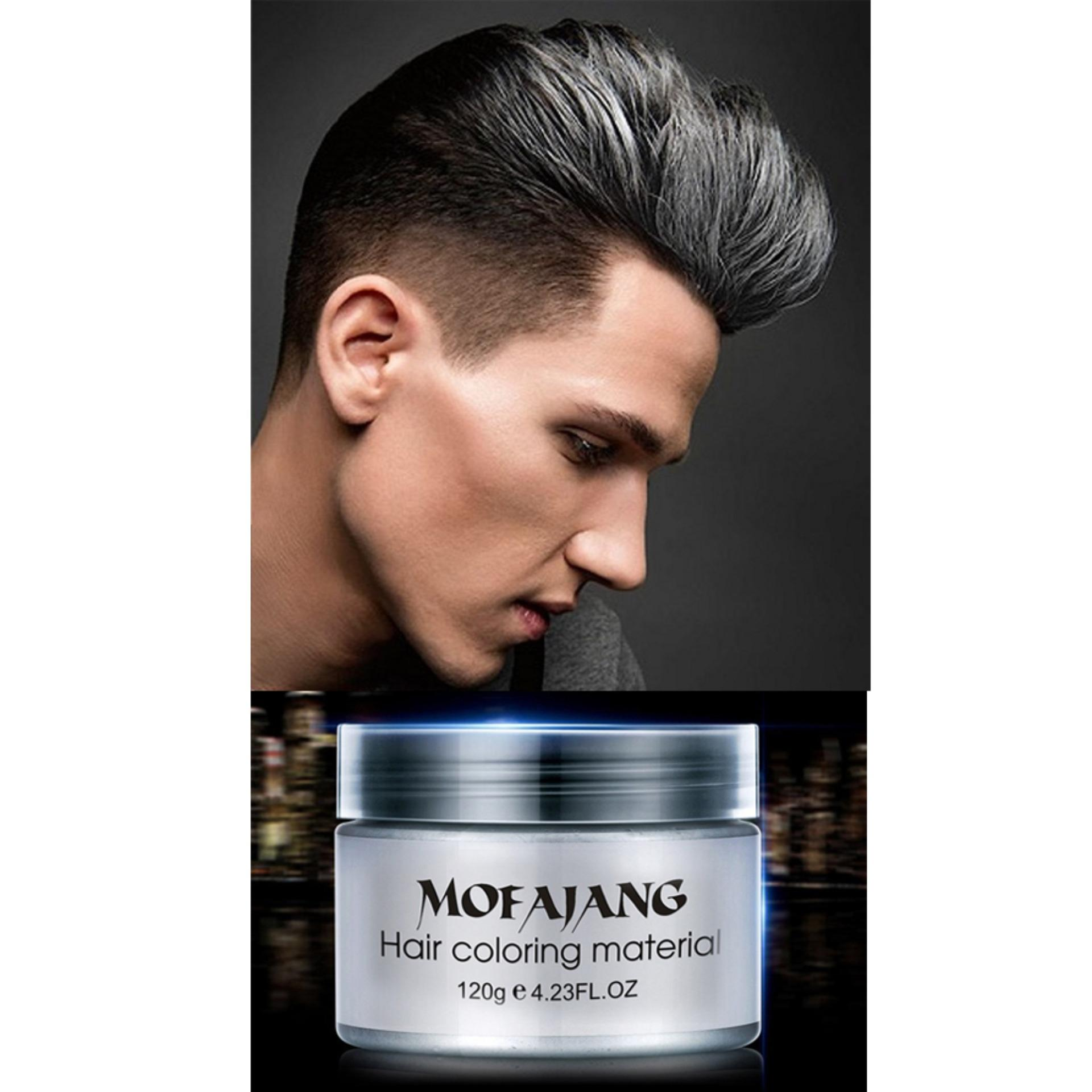 2f6a31a35ce Hair Color Wax Styling Pomade Silver  Buy Online at Best Prices in ...