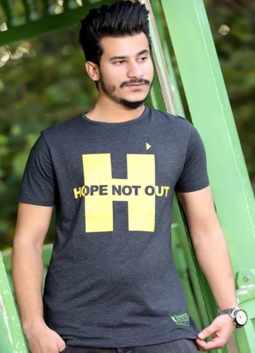 Hope Not-Out Utopia T-Shirt Grey