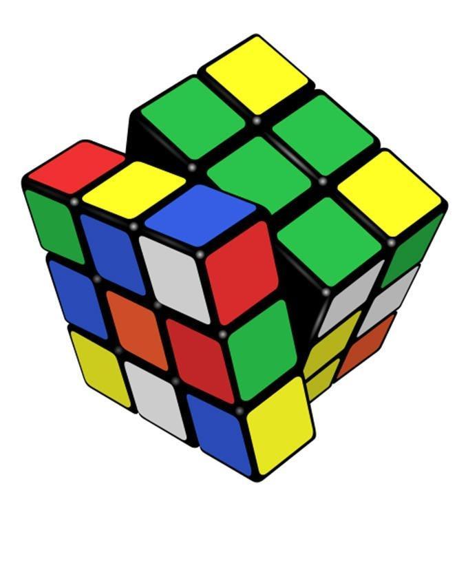 Rubik Magic Cube - Multicolor