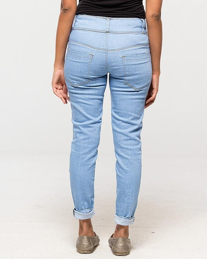 Ice Blue - Skinny Jeans for Women