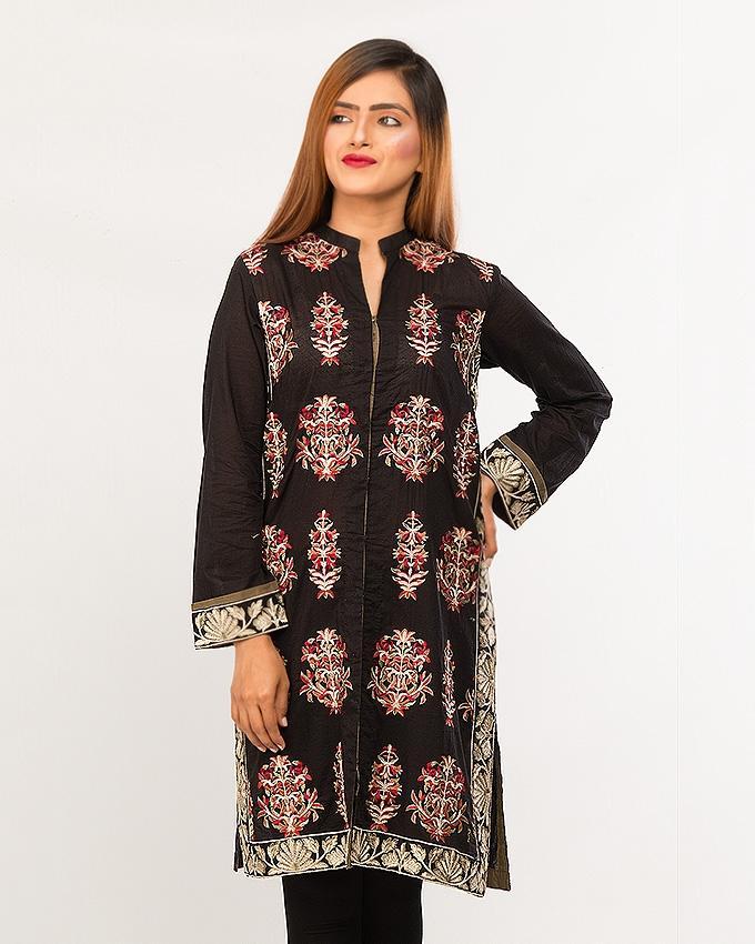 d4d1c09738 BEECHTREE - Luxury Pretwear BLACK 1-Pcs Shirt For Women