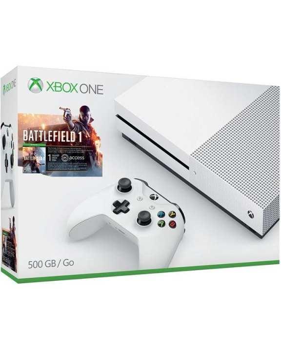 Xbox One S Battlefield 1 Bundle - 500GB -White