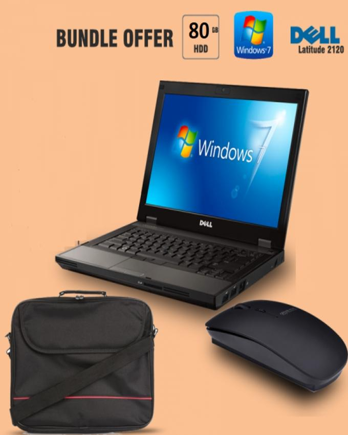 3 In 1 Offer Of 2120 Laptop Duo Core + Original Laptop Bag + Wire Less Mouse