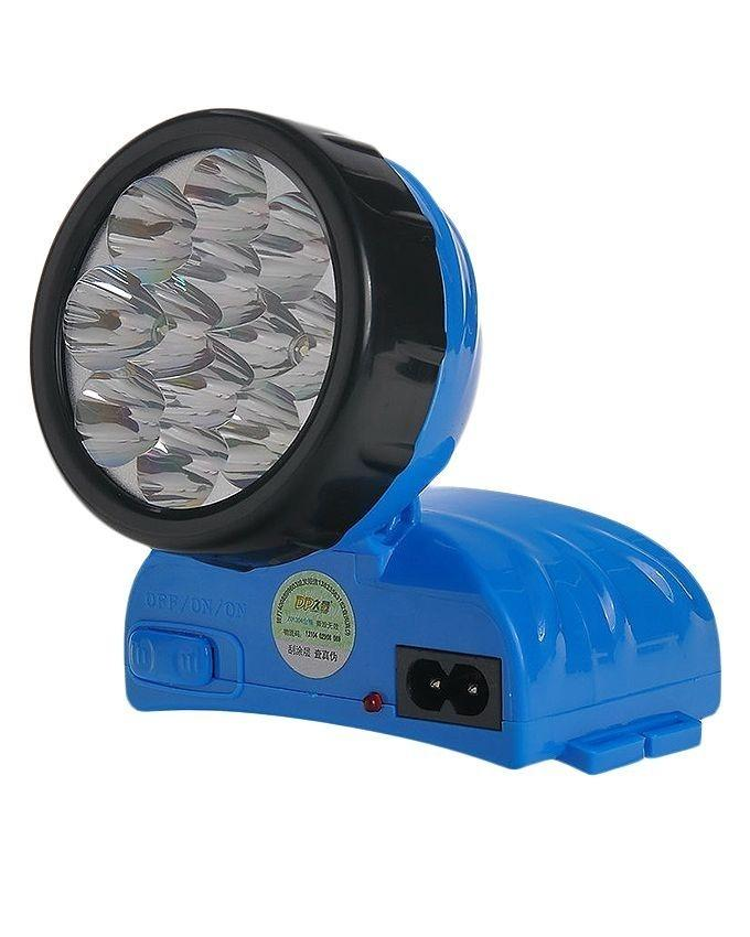 LED-744 - Rechargeable LED Headlight Torch - Blue