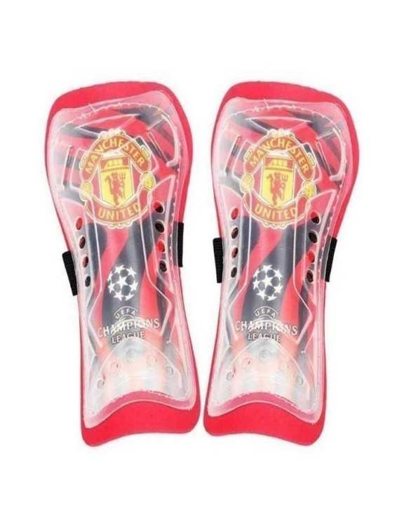 Pack of 2 - Manchester United Shin Guards - Red