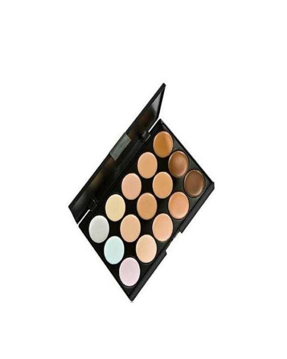 Contour Kit For Women - 15 shades - Multicolour