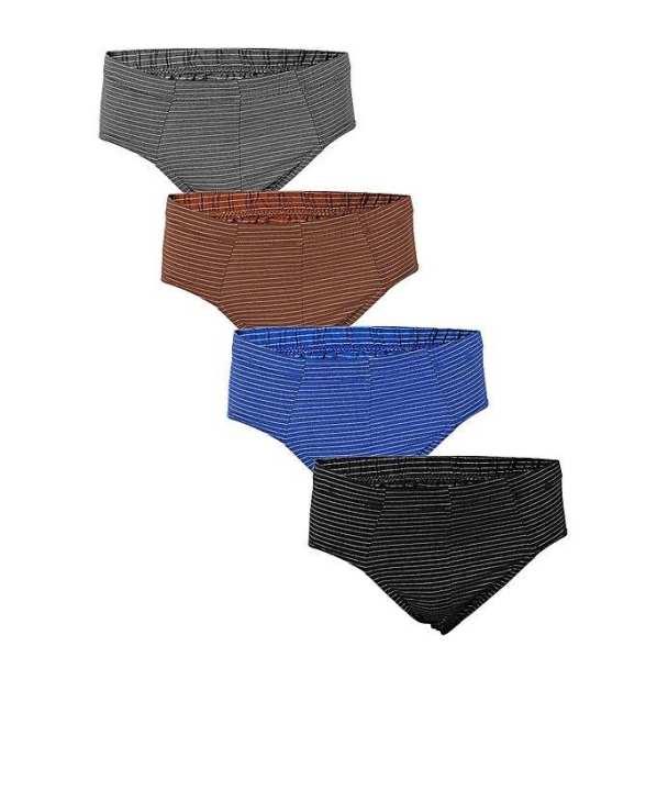 Pack of 4 - Multi Color Cotton Underwear for Men