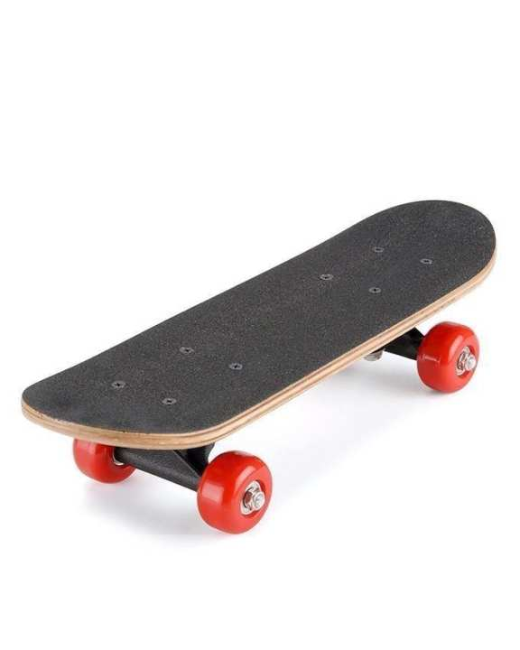 Skateboard For Kids - Black & Red