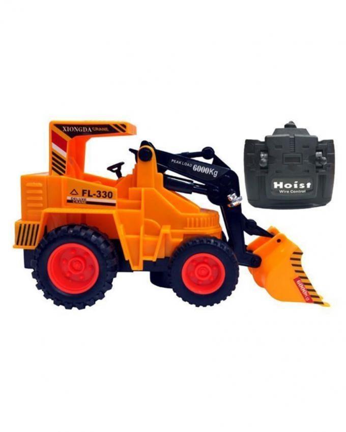 Wire Control Shovel Truck - Orange