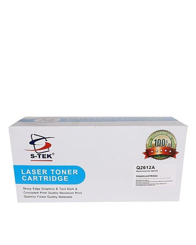 S-TEK Compatible Laser Toner Cartridge - HR-Q2612A - Black