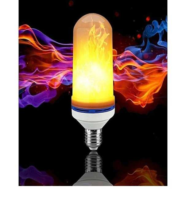 Led Flame Effect Fire Light Bulb - Made In China