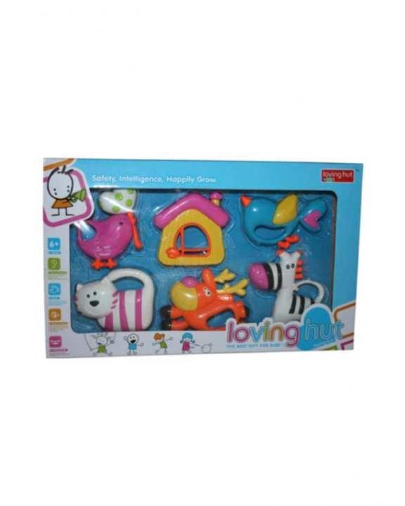 Baby Rattle Set - Multicolor