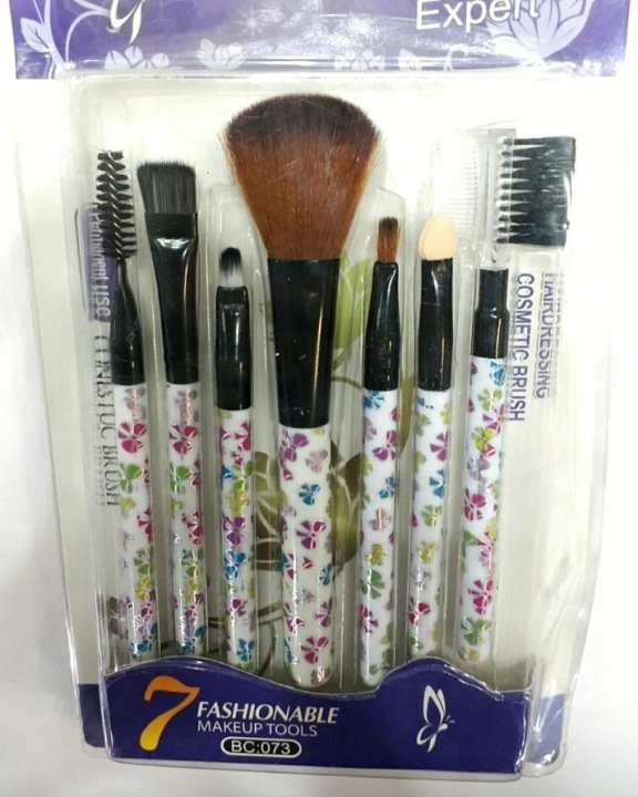 Pack of 7 Makeup Brushes