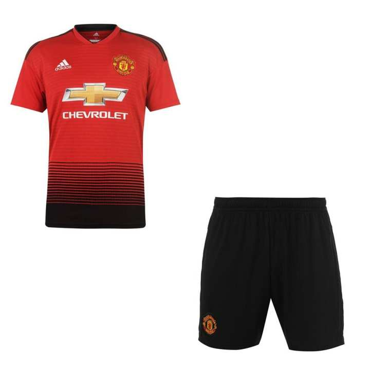 Manchester United Home Kit 2018 2019 - Half Sleeves