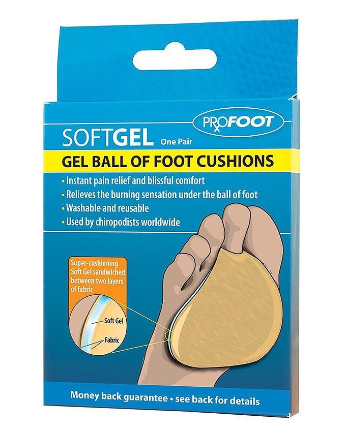 Soft Gel Ball of Foot Cushion