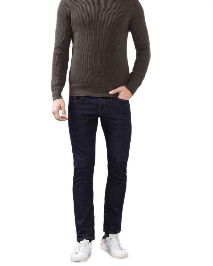 Dark Blue Denim Jeans For Men