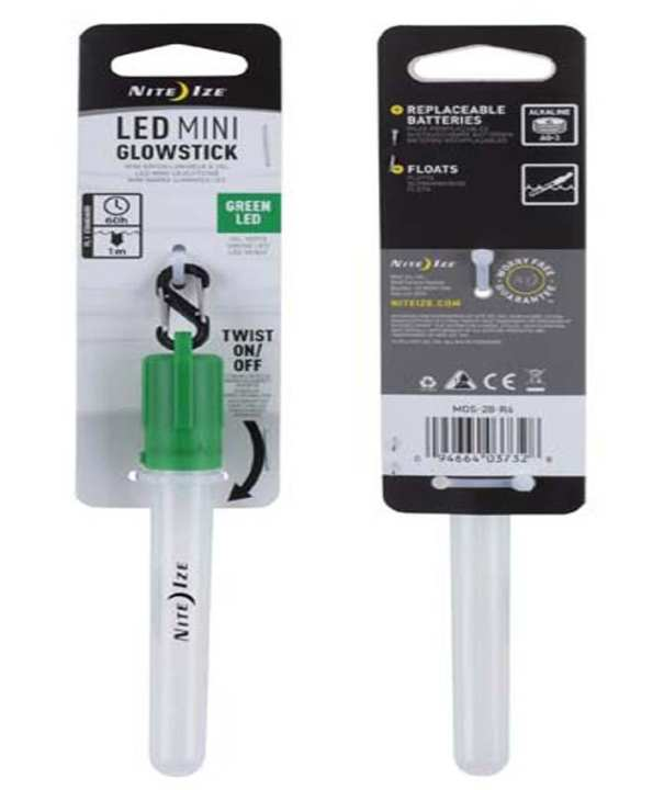 LED Mini Glowstick – Green (Model – MGS-28-R6)