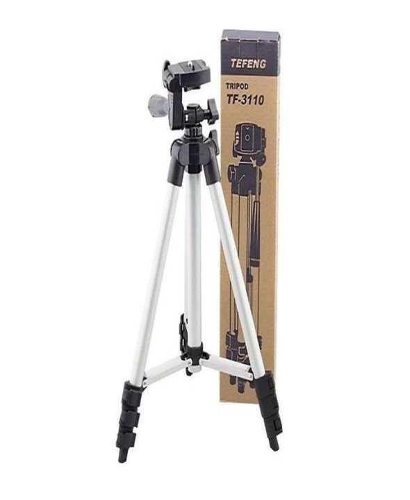 D Mart 3110 - Tripod Stand For DLSR Camera - Black & Silver