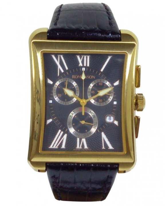 Romanson TL4142H MG BK - Stainless Steel Wrist Watch for Men
