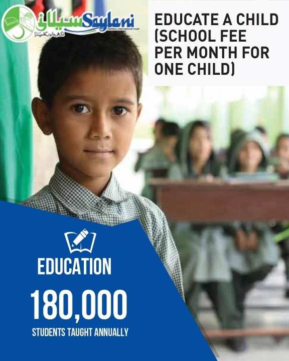 Sponsor to Educate a Child for a Month