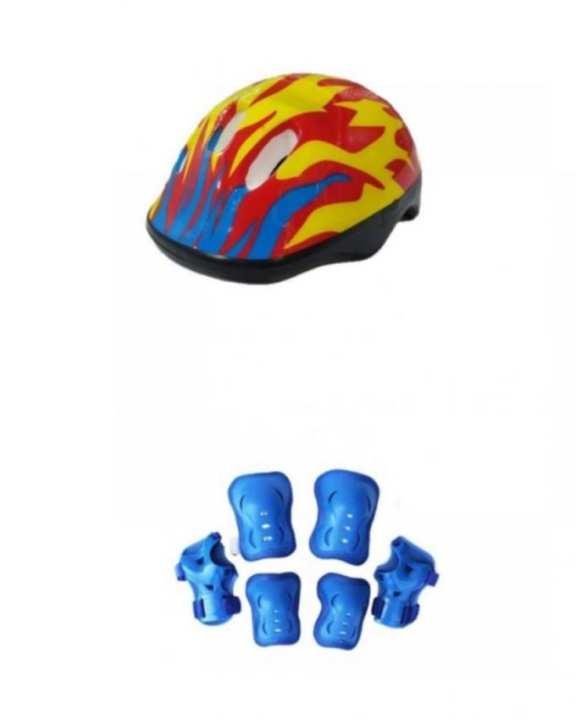 Bundle Pack - Helmet, Knee, Elbow & Wrist Pads