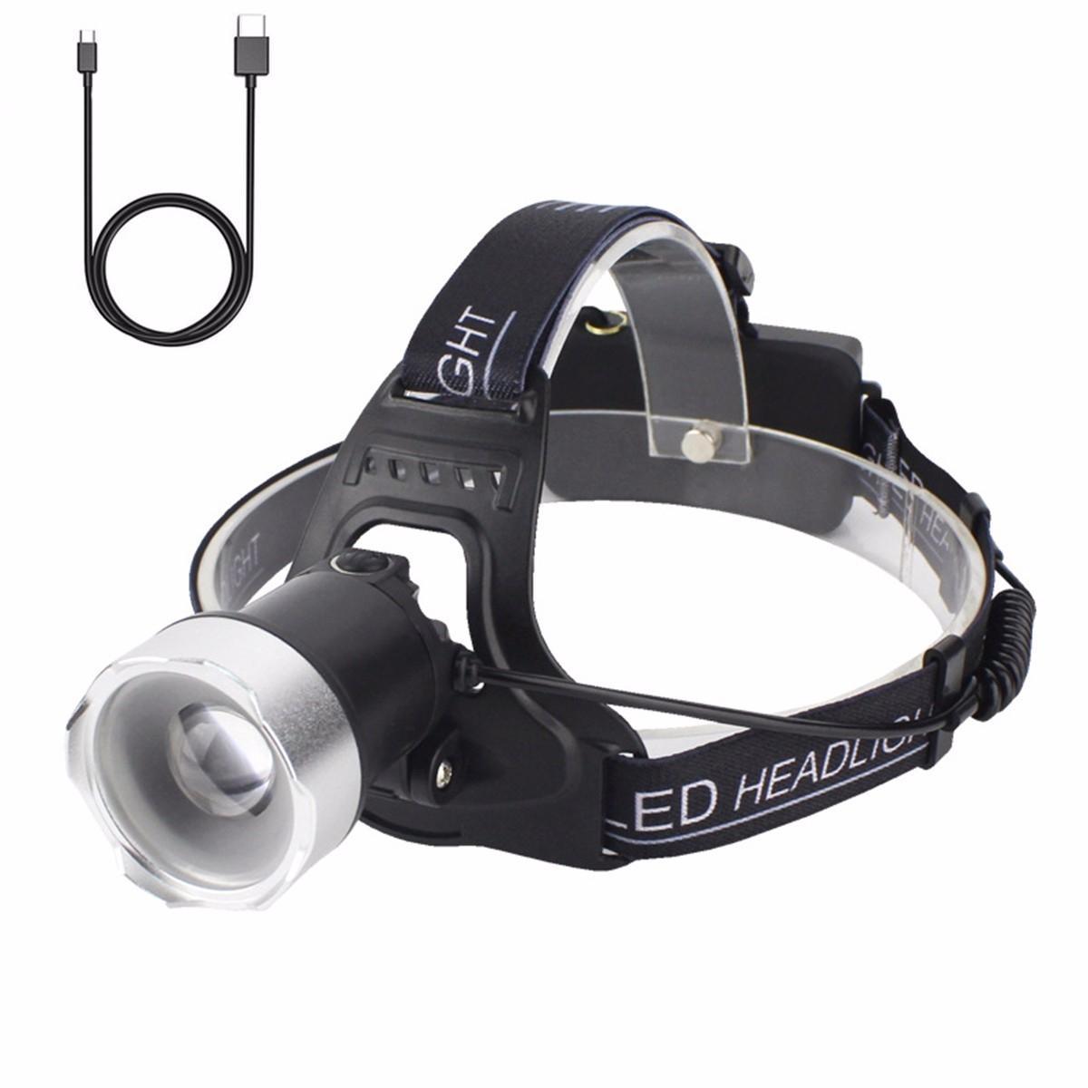Portable Lighting Flashlights & Torches Black Plastic White Light Press Button Usb Led Lamp Torch