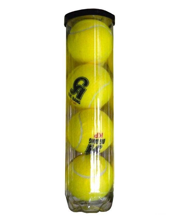 Pack of 4 - CA Sports Tennis Balls - Yellow