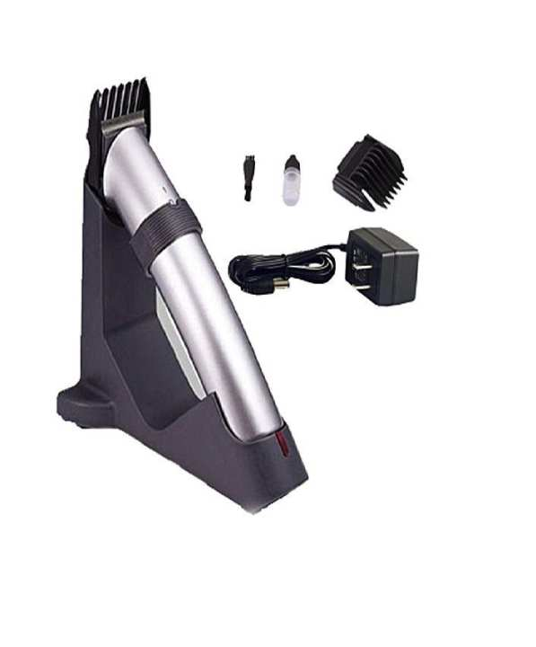 Dingling Dingling Rechargeable Cordless Hair Trimmer - Silver - RF-608
