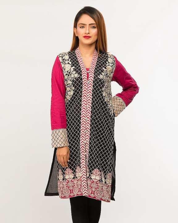 BEECHTREE - Luxury Pretwear BLK MRN 1-Pcs Shirt For Women
