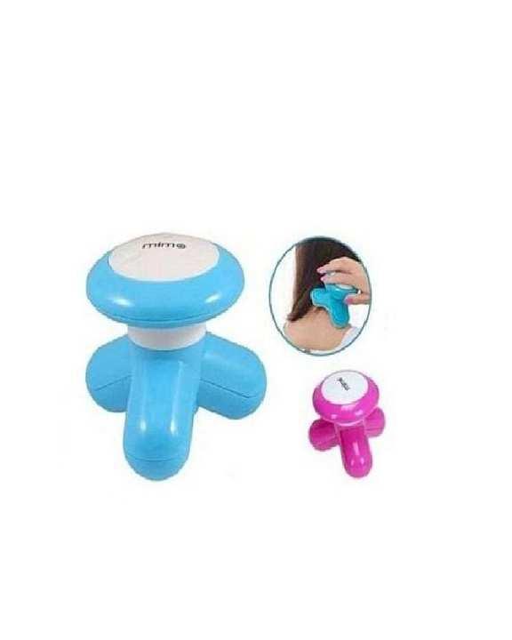 Mini Usb Electric Massager - Blue