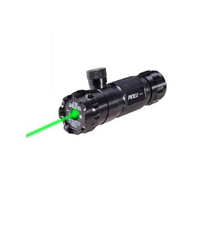 Green Laser_Sight Dot _Scope Adjustable With Mounts - Black
