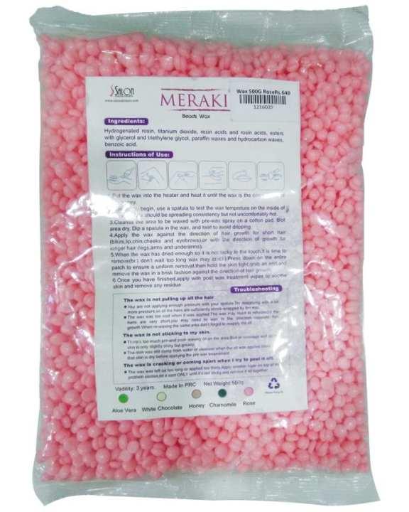 Beads Wax 500g Rose Meraki